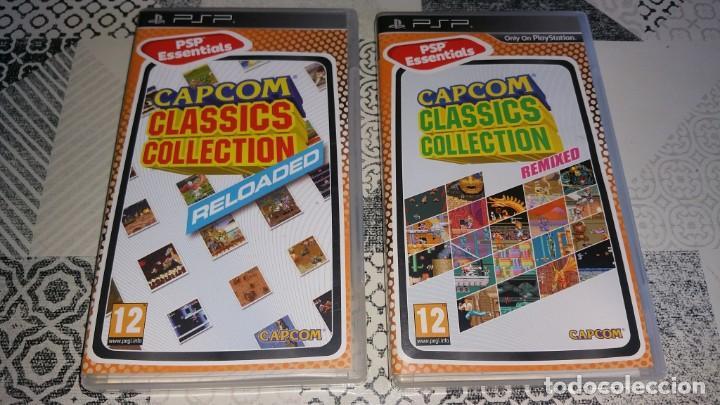 2 JUEGOS PSP CAPCOM CLASSICS COLLECTION RELOADED Y REMIXED PAL ESPAÑA (Juguetes - Videojuegos y Consolas - Sony - Psp)