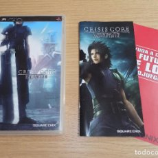 Videojuegos y Consolas: JUEGO PSP - CRISIS CORE: FINAL FANTASY VII - CAJA Y MANUAL - PAL ESPAÑA. Lote 214010101