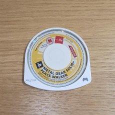 Videojuegos y Consolas: JUEGO PSP - METAL GEAR SOLID PEACE WALKER - PAL ESPAÑA. Lote 214010535