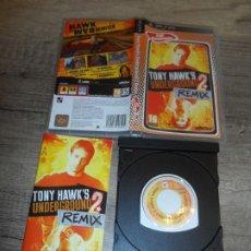 Videojuegos y Consolas: PSP TONY HAWK'S UNDERGROUND 2 REMIX PAL ESP COMPLETO. Lote 214695135