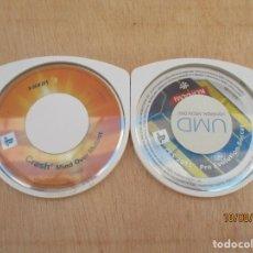 Videojuegos y Consolas: PSP DOS JUEGOS 2013 PRO EVOLUTION SOCCER Y CRASH MIND OVER MUTANT VAN CON FUNDA DE OTRO JUEGO. Lote 214745240