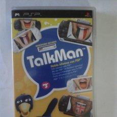 Videojuegos y Consolas: TALKMAN - PSP. Lote 214757533