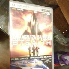 Videojuegos y Consolas: UMD VIDEO PSP - LA AMENAZA INVISIBLE STEALTH. Lote 216532511