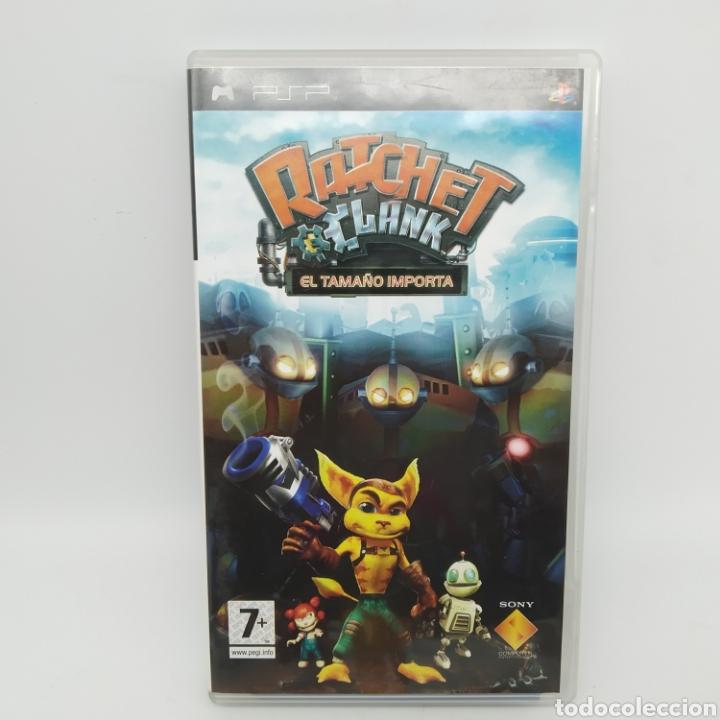 Videojuegos y Consolas: Juego PSP - Ratchet y Clank, El Tamaño importa - Foto 2 - 217012233
