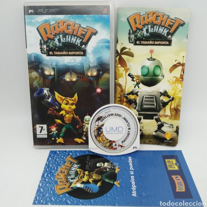 JUEGO PSP - RATCHET Y CLANK, EL TAMAÑO IMPORTA (Juguetes - Videojuegos y Consolas - Sony - Psp)