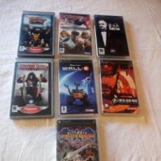 Videojuegos y Consolas: LOTE DE 7 JUEGOS DE PSP.. Lote 217162253