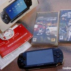 Videojuegos y Consolas: SONY PSP CON 2 JUEGOS.. Lote 218108142