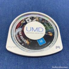 Videojuegos y Consolas: VIDEOJUEGO PSP - PLAYSTATION PORTATIL - STAR WARS BATTLEFRONT II - SOLO CARTUCHO - EUR. Lote 218807665