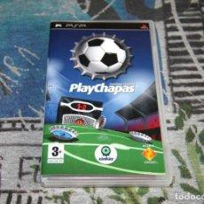 Videojuegos y Consolas: JUEGO PSP - PLAYCHAPAS - FOOTBALL EDITION - EDICIÓN ESPAÑOLA. Lote 54560728