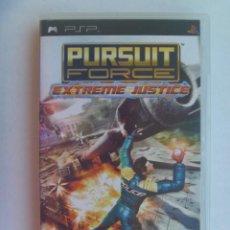 Videojuegos y Consolas: JUEGO DE PSP : PURSUIT FORCE , EXTREME JUSTICE . DE SONY. Lote 220392362