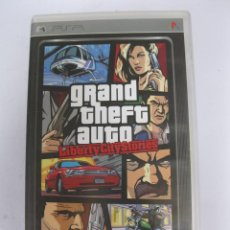 Videojuegos y Consolas: GRAND THEFT AUTO - LIBERTY CITY STORIES - JUEGO PARA PSP.. Lote 220974482