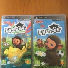 Videojuegos y Consolas: EYEPET Y EYEPET EXPLORADORES PSP. Lote 221085225