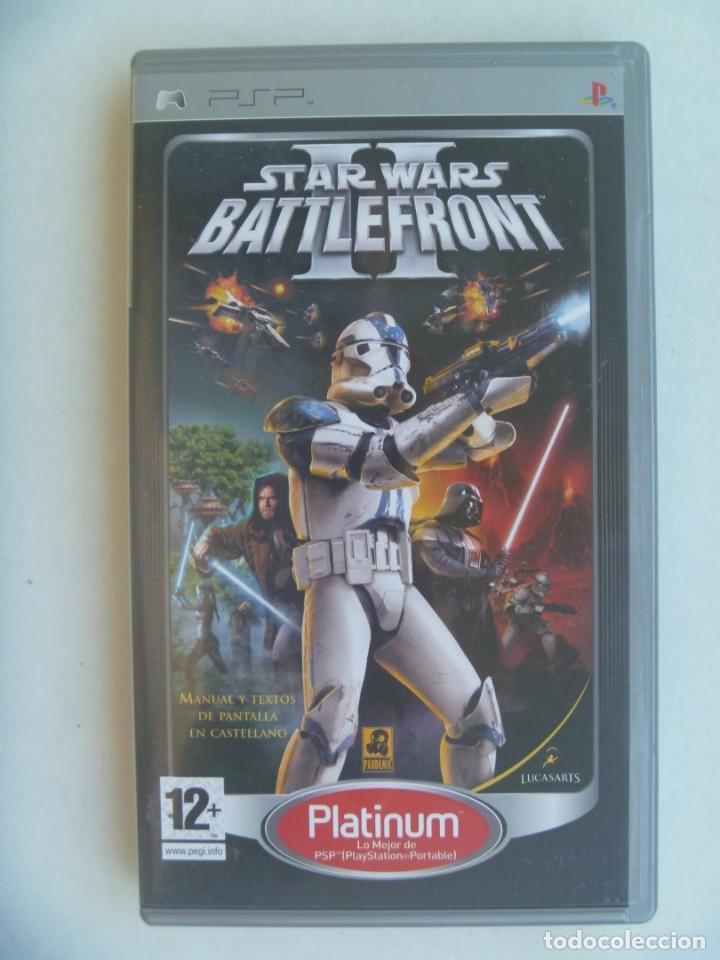 JUEGO DE PSP : STAR WARS II, BATTLEFRONT . DE SONY (Juguetes - Videojuegos y Consolas - Sony - Psp)