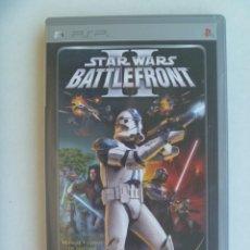 Videojuegos y Consolas: JUEGO DE PSP : STAR WARS II, BATTLEFRONT . DE SONY. Lote 221438751