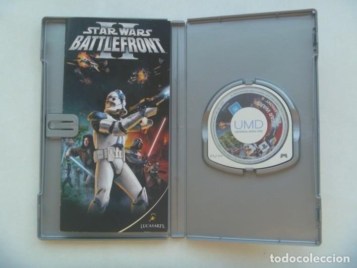 Videojuegos y Consolas: JUEGO DE PSP : STAR WARS II, BATTLEFRONT . DE SONY - Foto 2 - 221438751