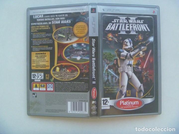 Videojuegos y Consolas: JUEGO DE PSP : STAR WARS II, BATTLEFRONT . DE SONY - Foto 3 - 221438751