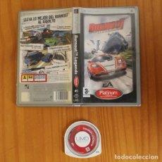 Videojuegos y Consolas: BURNOUT LEGENDS. JUEGO PSP SONY PLAYSTATION PORTABLE ELECTRONIC ARTS. Lote 221531538