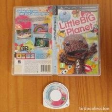 Videojuegos y Consolas: LITTLE BIG PLANET. JUEGO PSP SONY PLAYSTATION PORTABLE SACKBOY LITTLEBIGPLANET. Lote 221531626