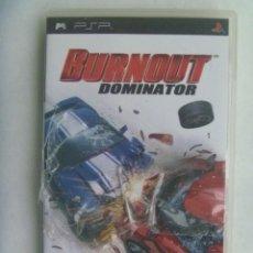Videojuegos y Consolas: JUEGO DE PSP : BURNOUT , DOMINATOR . DE SONY. Lote 221721010