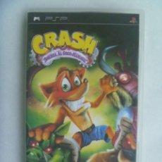 Videojuegos y Consolas: JUEGO DE PSP : CRASH , ¡ GUERRA AL LOCO MANIACO !. DE SONY. Lote 221794728