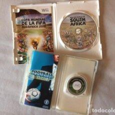 Videojuegos y Consolas: 2 JUEGOS PSP Y WII CON INSTRUCCIONES. Lote 221864363