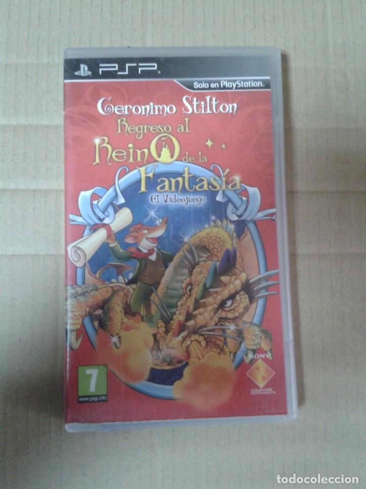 GERONIMO STILTON REGRESO AL REINO DE LA FANTASIA PSP (Juguetes - Videojuegos y Consolas - Sony - Psp)