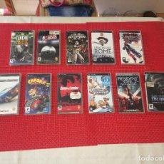 Videojuegos y Consolas: LOTE DE 10 JUEGOS PSP - UMD - VER RELACIÓN - ¡¡¡ POR SÓLO 1.- EURO DE SALIDA !!!. Lote 222221958