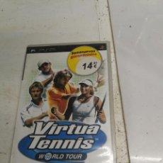 Videojuegos y Consolas: JUEGO SONY PSP PLAYSTATION PORTABLE. VIRTUA TENNIS WORLD TOUR. COMPLETO. Lote 222393412