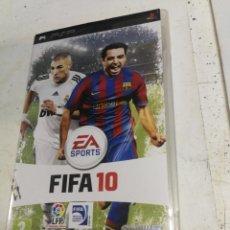 Videojuegos y Consolas: VIDEOJUEGO PLAY STATION PORTATIL - PSP - SONY - FIFA 10 + INSTRUCCIONES. Lote 222394460