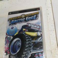 Videojuegos y Consolas: VIDEOJUEGO PLAY STATION PORTATIL - PSP - SONY - + MOTORSTORM ARTIC EDGE MOTOR STORM COMPLETO. Lote 222394647