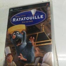 Videojuegos y Consolas: VIDEOJUEGO PLAY STATION PORTATIL - PSP - SONY - COMPLETO- RATATOUILLE - RATATUI. Lote 222394892
