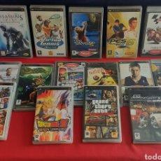 Videojuegos y Consolas: GRAN LOTE DE JUEGOS PSP. Lote 222400315