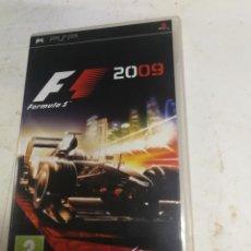 Videojuegos y Consolas: VIDEOJUEGO PLAY STATION PORTATIL - PSP - SONY - FORMULA 1 2009 F1. Lote 222405002
