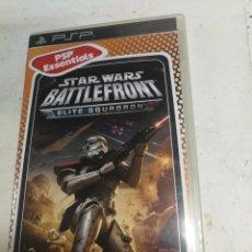 Videojuegos y Consolas: VIDEOJUEGO PLAY STATION PORTATIL - PSP - SONY - STAR WARS BATTLEFRONT ELITE SQUADRON. Lote 222405042