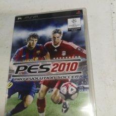 Videojuegos y Consolas: VIDEOJUEGO PLAY STATION PORTATIL - PSP - SONY - SONY PSP - PRO EVOLUTION SOCCER, PES 2010. Lote 222405066
