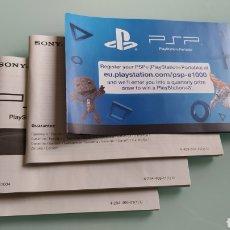 Videojuegos y Consolas: PSP E1004 MANUALES. Lote 222409086