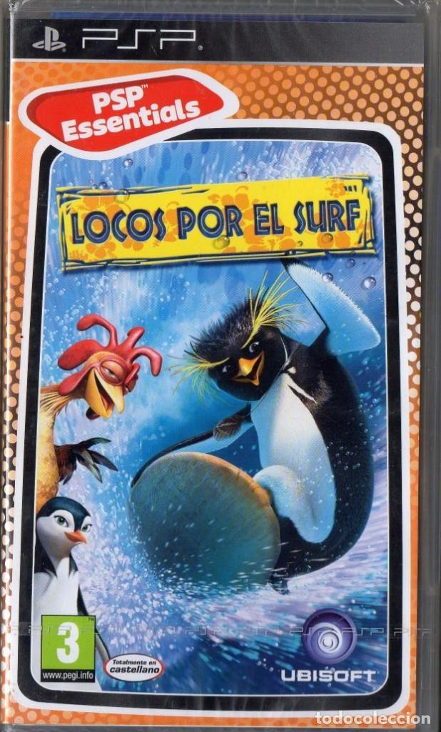 LOCOS POR EL SURF - JUEGO PSP TOTALMENTE EN CASTELLANO (PRECINTADO) (Juguetes - Videojuegos y Consolas - Sony - Psp)