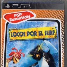 Videojuegos y Consolas: LOCOS POR EL SURF - JUEGO PSP TOTALMENTE EN CASTELLANO (PRECINTADO). Lote 222418280