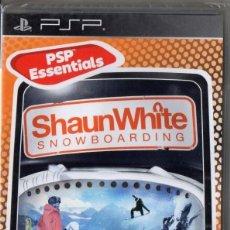 Videojuegos y Consolas: SHAUNWHITE SNOWBOARDING - JUEGO PSP TOTALMENTE EN CASTELLANO (PRECINTADO). Lote 222418508