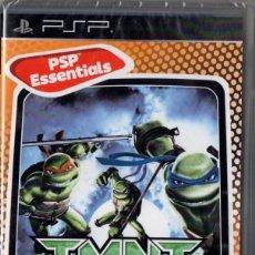 Videojuegos y Consolas: TMNT: TORTUGAS NINJA JOVENES MUTANTES - JUEGO PSP TOTALMENTE EN CASTELLANO (PRECINTADO). Lote 222418730