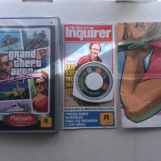 Videojuegos y Consolas: GRAND THEFT AUTO VICE CITY STORIES PLATINUM GTA PSP KREATEN. Lote 222593596