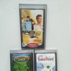 Videojuegos y Consolas: 3 JUEGOS PSP. Lote 222743408