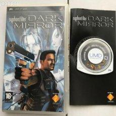 Videojogos e Consolas: SYPHON FILTER DARK MIRROR PSP KREATEN. Lote 223140390