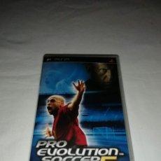 Videojuegos y Consolas: JUEGO PSP PRO EVOLUTION SOCCER 5. Lote 226396083