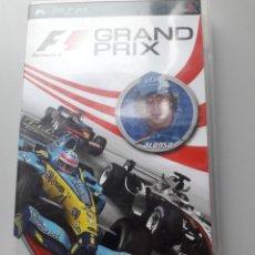 Videojuegos y Consolas: GRAND PRIX PSP F1 SIN INSTRUCCIONES JUEGO DE PLAYSTATION. Lote 226795275