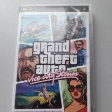 Videojuegos y Consolas: GRAND THEFT AUTO VICE CITY STORIES PSP JUEGO DE PLAYSTATION. Lote 226795750