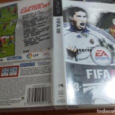 Videojuegos y Consolas: FIFA 08 PSP PAL ESP. Lote 228269475