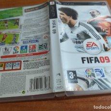 Videojuegos y Consolas: FIFA O9 PSP PAL ESP. Lote 228270065
