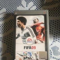Videojuegos y Consolas: FIFA 09 JUEGO PSP COMPLETO. Lote 228937040