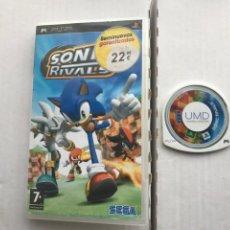 Jeux Vidéo et Consoles: SONIC RIVALS 1 SEGA PSP PLAYSTATION PORTABLE KREATEN. Lote 229102265